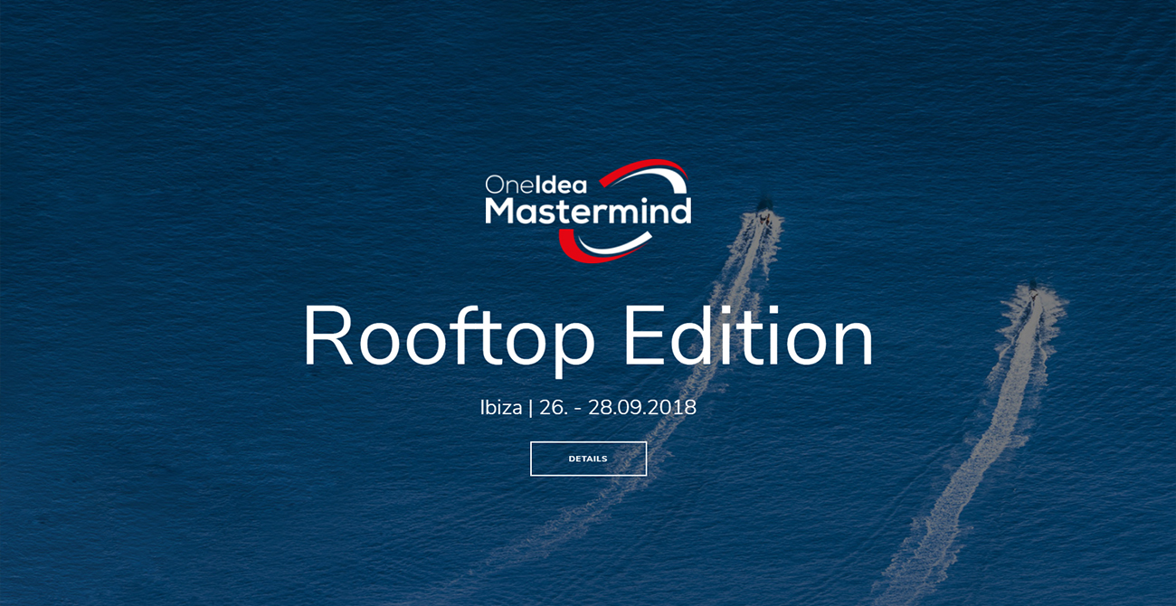 One Idea Mastermind – Rooftop Edition