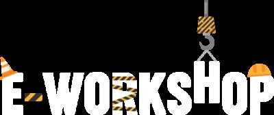 Logo weiß e-workshop